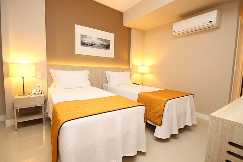 Hotel Link Stay Barra ~ Quarto Solteiro Hotel
