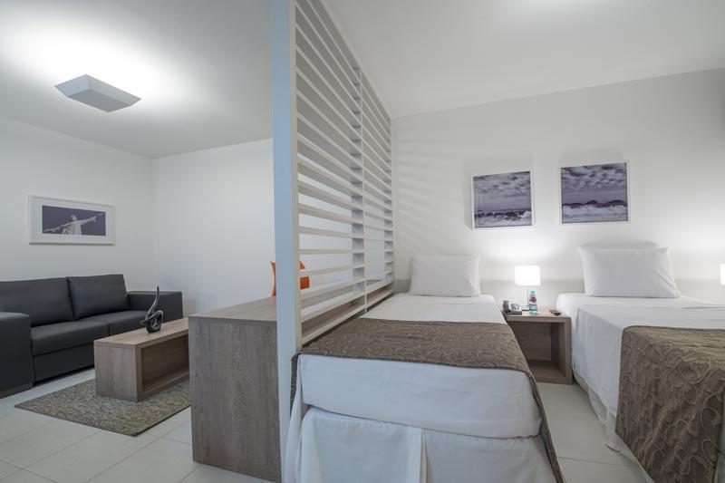 Hotel Prime Itaboraí ~ Quarto Solteiro Compacto